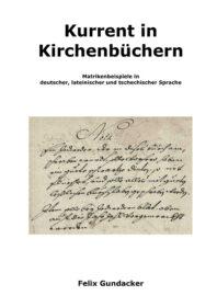 Kurrent in Kirchenbuechern - Buchumschlag