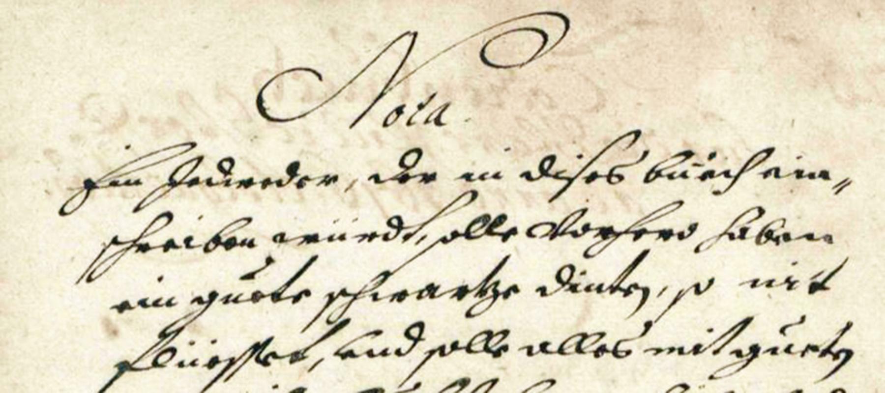 Nota - Original Dokument
